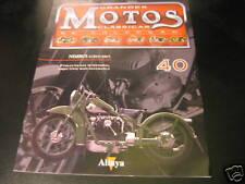 FASCICULE MOTOS CLASSIQUES ESPAGNOL 40 NIMBUS LUXUS 1937