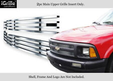 For 1994-1997 Chevy S-10 S10 Pickup Stainless Steel Billet Grille Insert