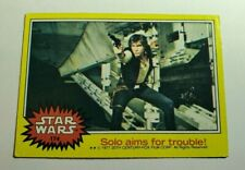 1977 Star Wars Card #174 - Solo Aims For Trouble - Free Shipping
