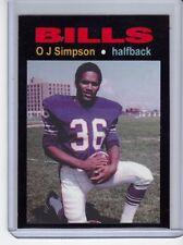 O J Simpson '69 Buffalo Bills rookie season MC Glory Days #4