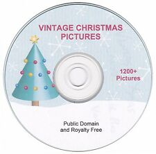 Vintage Christmas Images!  - 1200+  images on CD