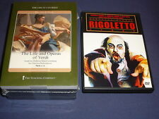 Teaching Co Great Courses DVDs        LIFE and  OPERAS OF VERDI      new + BONUS