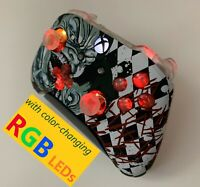 Limited Edition Joker Xbox One Controller w LED MOD PC iPhone Android Batman