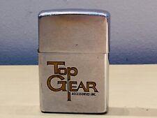 Old Vtg 1972  ZIPPO Lighter Top Gear Accessories Inc Advertisement USA