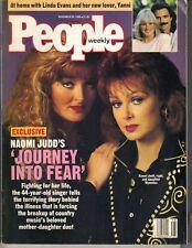 NAOMI WYNONNA JUDDS People Magazine 11/26/90 LINDA EVANS YANNI