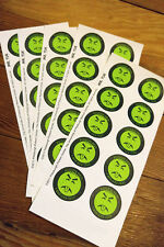 One sheet of Mr. Yuk stickers! 10 Stickers total.