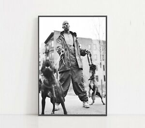 DMX Black and White Poster