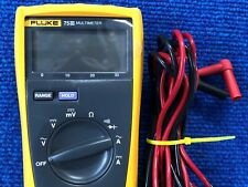 Fluke 75 Series 3 Digital Multimeter, DMM, 600V CAT III, Industrial, NOS