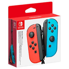Official Nintendo Joy-Con Pair - Neon Red/Neon Blue (Nintendo Switch) New