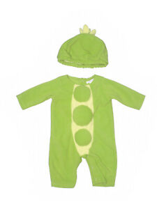 Baby Girl Boy Pottery Barn Kids Sweet Pea Green Costume Size 0-6  Months