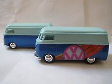 Sunnyside VW BUS Diecast 1:32 3VWS7 SS5403 LIGHT/DARK BLUE W/LOGO-NO BACK BUMPER