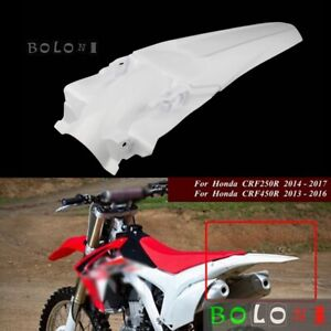Rear Fender For Honda CRF250R 2014-2017 CRF450R 2013-2016 Motocross Mudguard