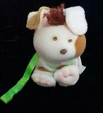 Vintage Cabbage Patch Pet Dog Plush Brown & White