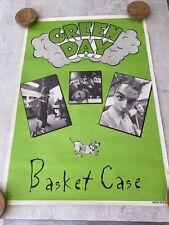 More details for greenday basket case poster 1994 original not re-print