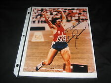 CAITLYN BRUCE JENNER TEAM USA HAND SIGNED AUTOGRAPHED 8X10 OLYMPICS CHAMPION
