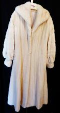Luxury Tourmaline Mink Full Length Handmade Fashion Fur Coat Bizakis Furs S/M