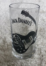 More details for 2x jack daniels highball glass with guitar design - collectible. brand new! 28cl