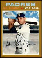 Ian Kinsler 2020 Topps Heritage 5x7 Gold #210 /10 Padres