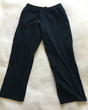 Zegna Sport Black Three Pocket Cotton Athletic Pant Size Large                A+