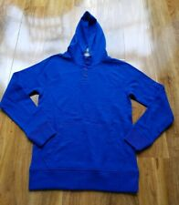 MINI BODEN BOYS BLUE COTTON HOODIE JUMPER B0206 BRAND NEW SIZE 11-12 YEARS