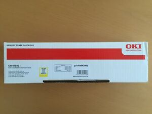 Neu OKI 44643001 Toner Gelb A