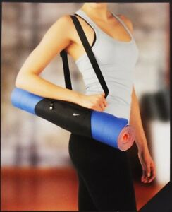 New Nike Victory Yoga Tote Sling OSFM Gym Bag Hobo Shoulder Bag Black