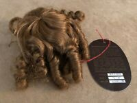 5 - 6 Jullien Monique Auburn wig long ringlets curly hair Doll making parts
