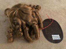 5 - 6 Jullien Monique Auburn wig long ringlets curly hair Doll making parts