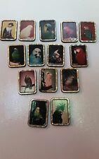 Elvis Presley Exotic Birds Kitchen Magnets set of 14 Trademark 1992