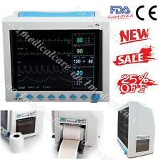 with Printer ICU Patient Monitor CMS8000, ECG+NIBP+SPO2+RESP+TEMP+PR