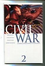 Civil War #2 NM  Millar McNiven Vines Hollowell Marvel Comics  CBX1F