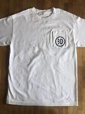 3D Skateboards Pocket Tee Logo T-shirt White Xl Brian Anderson Supreme Rare