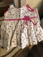 Vintage Adorable Doll Bonnet Rosebud Dress & Undergarment Lot