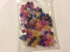 Assorted gemstone beads app 6mm beadss  app 100 beads pack 11