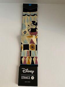 RARE NEW Stance Mens - Disney - Mickey Yusuke Mouse Socks - Large L NWT