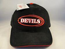 NHL New Jersey Devils Vintage Strapback Hat Cap Black