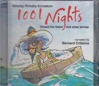 Rimsky Korsakov 1001 Nights Sinbad Sailor Stories CD Audio NEW* Bernard Cribbins