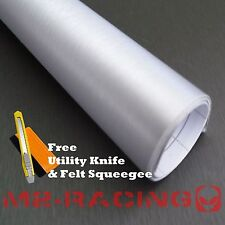 "*12""x60"" SILVER BRUSHED ALUMINUM Vinyl Wrap Sticker Decal Sheet Air Bubble Free"
