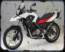 Bmw G 650Gs 11 1 A4 Metal Sign Motorbike Vintage Aged