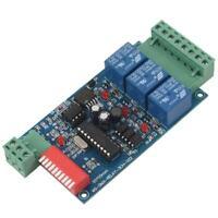 8CH DMX512 Controller Relay Switch dc 12v Converter 8 Way Relais schalter