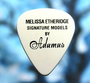 Melissa Etheridge // Custom Guitar Pick // Ovation Signature Models by Adamas