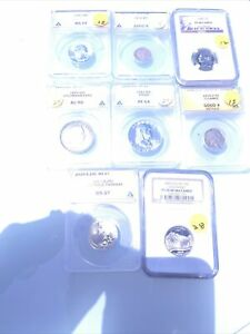 Certified US Coins ANACS & or PCGS No Reserve $200+ Red Book Value; 210