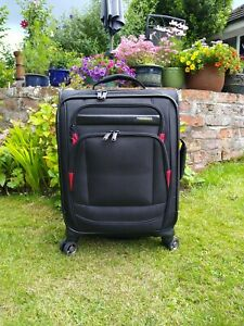 Samsonite Black Four Wheel Suitcase