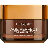 L'oreal Age Perfect Hydra-Nutrition Night Balm Nourishing Moisturizer 1.7oz