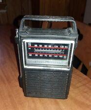 Vintage General Electric 7-2800B Two Way Power AM FM Transistor Radio