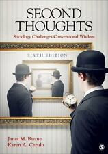Second Thoughts: Sociology Challenges Conventional Wisdom by Janet M. Ruane (Eng