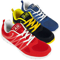 Mens Shock Absorbing Running Trainers Jogging Gym Fitness Trainer Shoe  UK 7-12