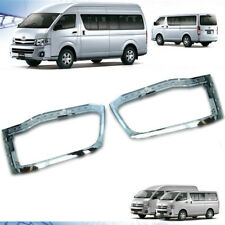 Chrome Front Headlight Cover Trim For Toyota Hiace Commuter 2005 - On