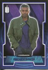Doctor Who 2015 Purple Parallel [99] Base Card #38 Mickey Smith