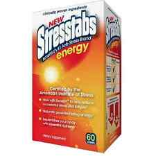 Stresstabs Energy Tablets 60 ea (Pack of 9)